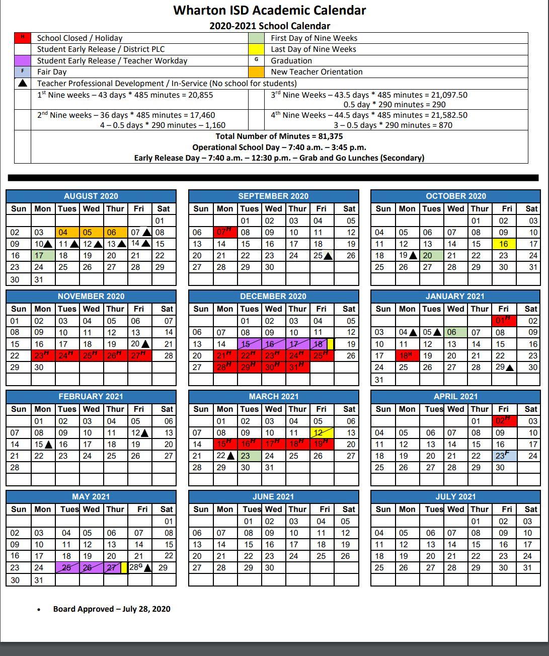 Wharton Independent School District / Homepage